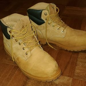 Timberland-style boots